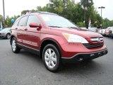 2007 Tango Red Pearl Honda CR-V EX-L 4WD #18102994