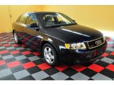 2004 Moro Blue Pearl Effect Audi A4 1.8T quattro Sedan #18108722