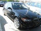 2007 Jet Black BMW 3 Series 335i Sedan #18108683