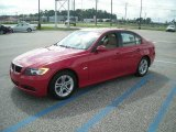 2008 Crimson Red BMW 3 Series 328i Sedan #18106257