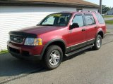 2003 Redfire Metallic Ford Explorer XLT 4x4 #18104439