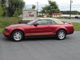 2006 Redfire Metallic Ford Mustang V6 Deluxe Convertible #18106431