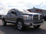 2008 Mineral Gray Metallic Dodge Ram 1500 Big Horn Edition Quad Cab #18103215