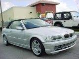 2001 Titanium Silver Metallic BMW 3 Series 330i Convertible #18168558