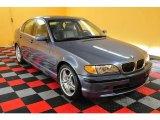 2002 Steel Blue Metallic BMW 3 Series 330i Sedan #18169138