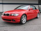 2004 Imola Red BMW 3 Series 330i Convertible #18166812