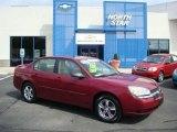 2005 Sport Red Metallic Chevrolet Malibu LS V6 Sedan #18163896
