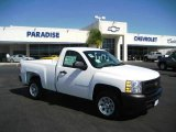 2009 Summit White Chevrolet Silverado 1500 Regular Cab #18170303