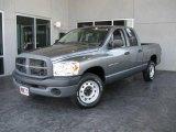2007 Mineral Gray Metallic Dodge Ram 1500 ST Quad Cab #18156810