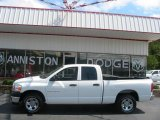 2006 Bright White Dodge Ram 1500 ST Quad Cab #18171921