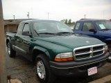 2004 Timberline Green Pearl Dodge Dakota SXT Club Cab #18171223