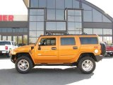 2006 Fusion Orange Hummer H2 SUV #18170789