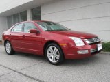 2008 Redfire Metallic Ford Fusion SEL V6 #18167192