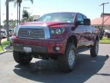2007 Salsa Red Pearl Toyota Tundra Limited Double Cab 4x4 #18234882