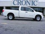 2007 White Nissan Titan XE King Cab #18228987