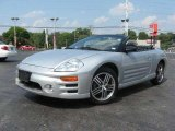 2003 Sterling Silver Metallic Mitsubishi Eclipse Spyder GTS #18234904