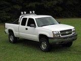 2004 Summit White Chevrolet Silverado 1500 Z71 Extended Cab 4x4 #18229447