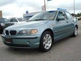 2004 Grey Green Metallic BMW 3 Series 325i Sedan #18222497