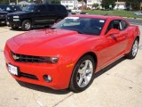 2010 Victory Red Chevrolet Camaro LT Coupe #18226919