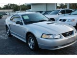 2000 Silver Metallic Ford Mustang V6 Coupe #18232616