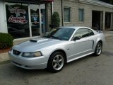 2002 Satin Silver Metallic Ford Mustang GT Coupe #18231595