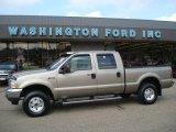 2004 Arizona Beige Metallic Ford F250 Super Duty XLT Crew Cab 4x4 #18231452