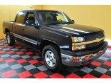 2005 Dark Blue Metallic Chevrolet Silverado 1500 LS Crew Cab 4x4 #18233443