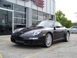 2008 Black Porsche 911 Carrera 4S Cabriolet #172018