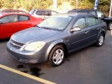 2007 Blue Granite Metallic Chevrolet Cobalt LS Sedan #18219745