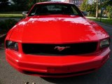 2005 Torch Red Ford Mustang V6 Premium Coupe #18227599