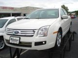 2008 White Suede Ford Fusion SE #18228096