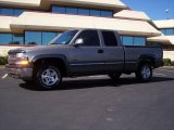 2000 Light Pewter Metallic Chevrolet Silverado 1500 LS Extended Cab 4x4 #18297152