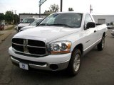 2006 Bright White Dodge Ram 1500 SLT Regular Cab #18295287