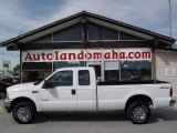 2004 Oxford White Ford F250 Super Duty XLT SuperCab 4x4 #18296641