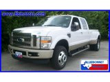 2010 Oxford White Ford F350 Super Duty King Ranch Crew Cab 4x4 Dually #18289008