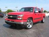 2006 Victory Red Chevrolet Silverado 1500 LS Crew Cab #18301055