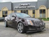 2009 Black Cherry Cadillac CTS Sedan #18299831