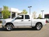 2007 Bright White Dodge Ram 1500 Big Horn Edition Quad Cab 4x4 #18301254