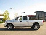 2008 Bright Silver Metallic Dodge Ram 1500 Big Horn Edition Quad Cab 4x4 #18301242