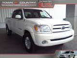 2005 Natural White Toyota Tundra Limited Double Cab #18341656