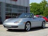 2000 Porsche 911 Polar Silver Metallic
