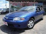 2003 Arrival Blue Metallic Chevrolet Cavalier Coupe #18368272