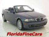 2002 Steel Grey Metallic BMW 3 Series 330i Convertible #18388200