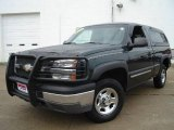 2003 Dark Green Metallic Chevrolet Silverado 1500 Regular Cab 4x4 #18388747