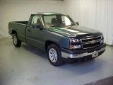 2006 Blue Granite Metallic Chevrolet Silverado 1500 Regular Cab #18397120