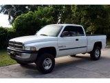 2001 Bright White Dodge Ram 1500 SLT Club Cab 4x4 #18392219