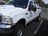 2004 Oxford White Ford F250 Super Duty FX4 SuperCab 4x4 #18398720
