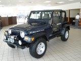 2006 Midnight Blue Pearl Jeep Wrangler Rubicon 4x4 #18391601
