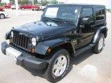 2010 Black Jeep Wrangler Sahara 4x4 #18392889