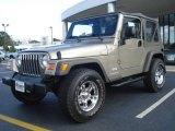 2006 Light Khaki Metallic Jeep Wrangler X 4x4 #18391323